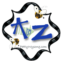 A to Z blog hop at Patterings.