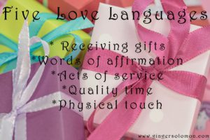 gift, love language